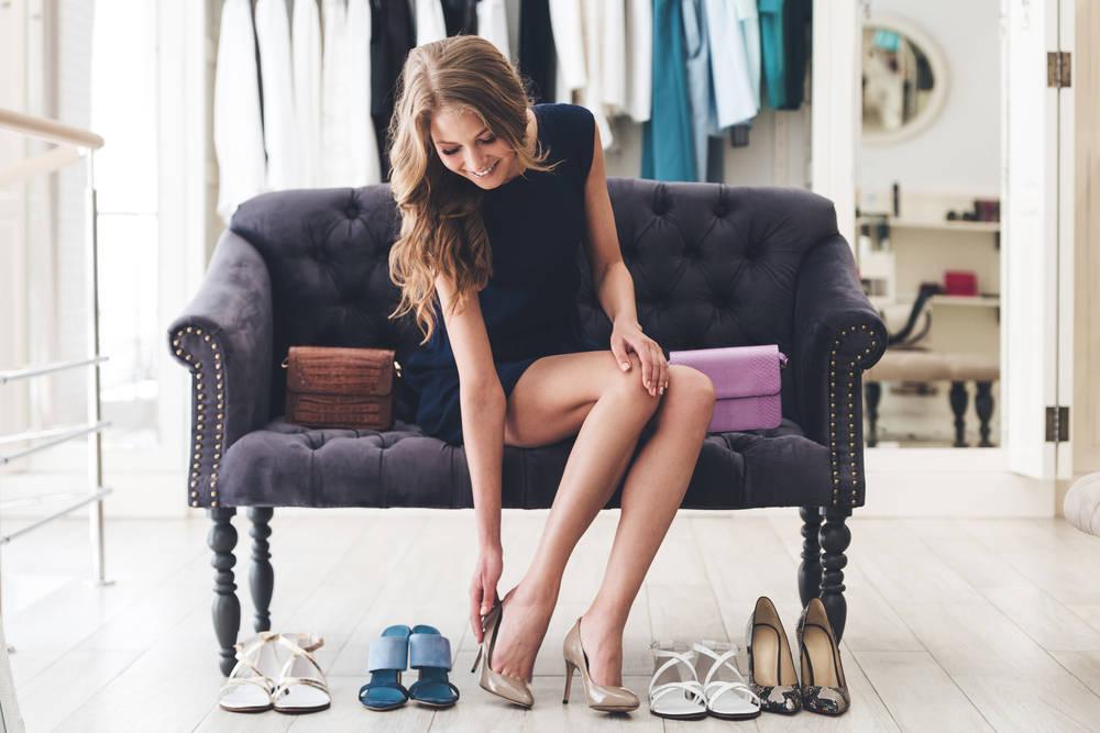 Los zapatos también son clave para parecer una persona atractiva